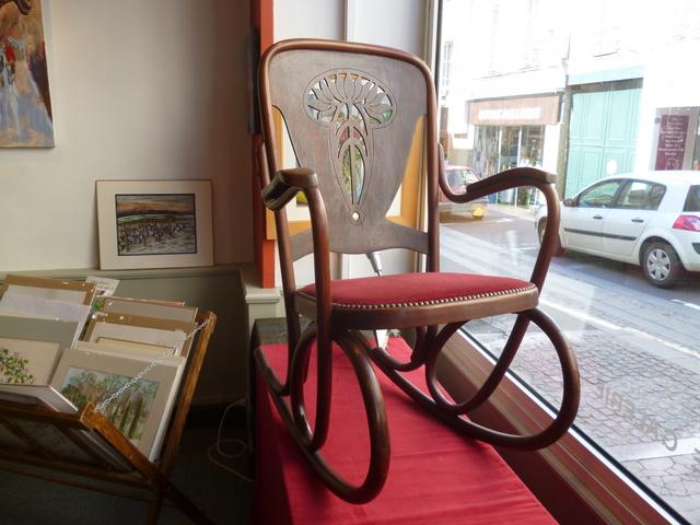 rocking chair thonet n 72 d ja vendu. Black Bedroom Furniture Sets. Home Design Ideas