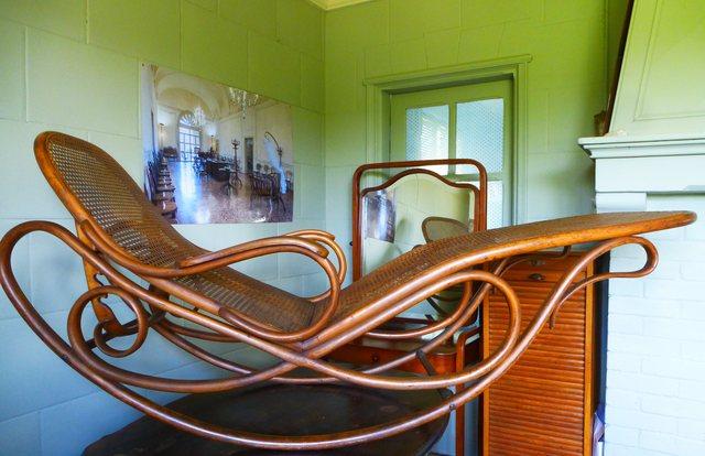 chaise longue thonet n 7005 schaukel sofa d ja vendu. Black Bedroom Furniture Sets. Home Design Ideas