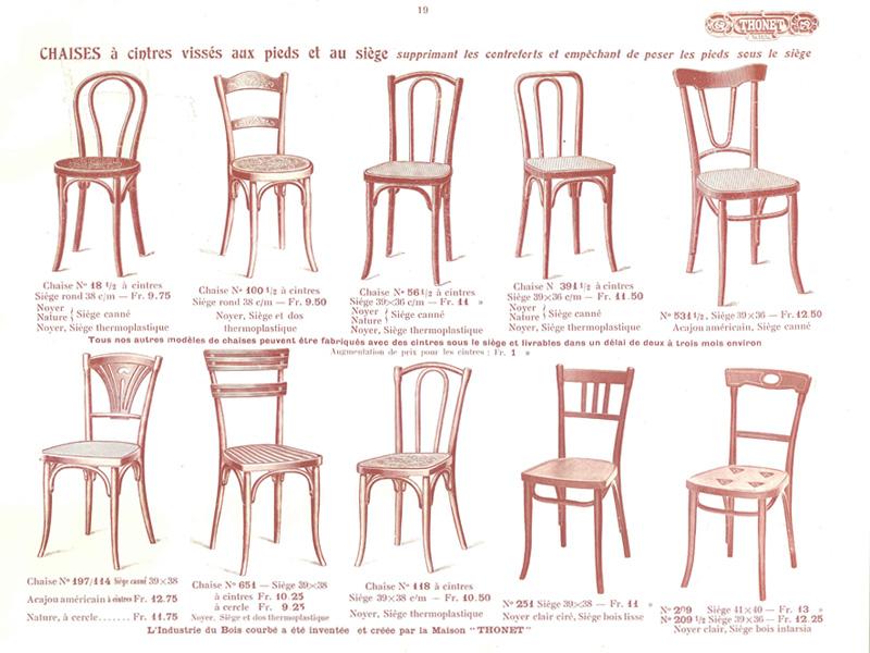 el cat logo real de los muebles thonet 1914. Black Bedroom Furniture Sets. Home Design Ideas